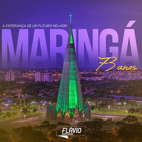 Flávio Mantovani - Maringá 73 anos