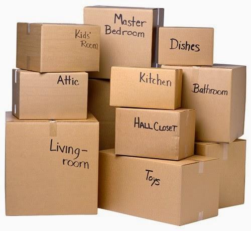 kinh nghiệm sắp xếp đồ khi chuyển nhà