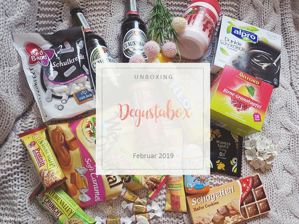 Degusatbox - Februar 2019 - unboxing