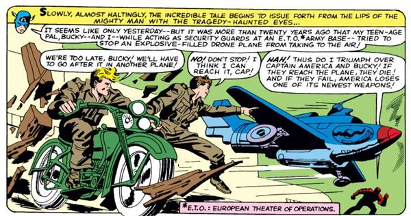 Kematian superhero Bucky Barnes sidekick Captain America