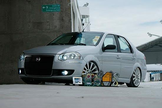 Siena Rebaixado | Only Cars - Carros Rebaixados,Turbo ...