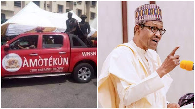Just In: FG Declares Amotekun As Illegal Security Outfit