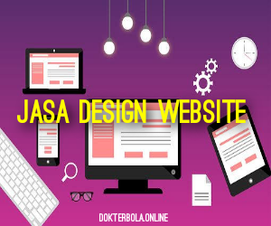 Jasa Design Website Luwu Timur Terpercaya - DokterBola.online