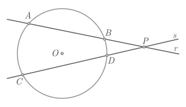 Teorema de Pitágoras baseado na potência de um ponto - Figura 2
