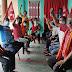 कोरोना महामारी में सरकारी विफलताओं के खिलाफ भाकपा का धरना