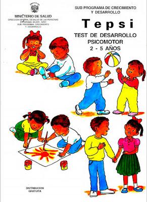 manual test tepsi minsa peru niños juagando pintando cred