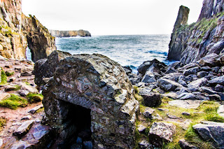 St Govans Chapel Pembrokeshire Coast Wales Gales UK