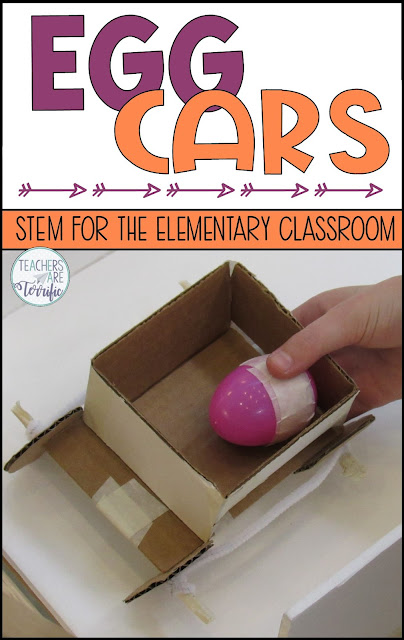 It's another fabulous STEM challenge using Newton's Laws of Motion! Students will love this egg car challenge and the experimenting with their egg cars and ramps!