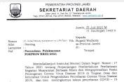 Gara-gara Covid-19, Pelaksanaan Porprov Jambi Ditunda