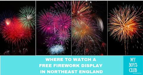 16 FREE Firework Displays In North East England