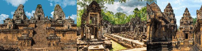 Pré Rup - Preah Khan - Banteay Srei