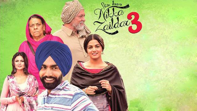 Nikka Zaildar 3 (2019) Punjabi Movie 720p BluRay Download