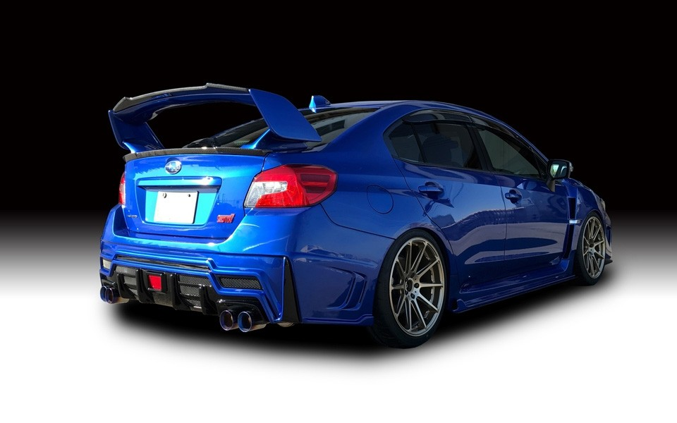 rowen turns subaru wrx sti into a road going rally car. Black Bedroom Furniture Sets. Home Design Ideas