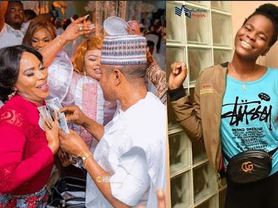 Checkout photos of Faithia Williams and Saidi Balogun only daughter, Haliyat