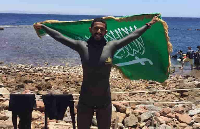 Saudi Free Diving Champion drowns in Sea