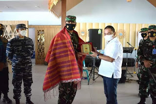 Bupati Tapteng Sambut Kunjungan Kerja Pangkosekhanudnas III Marsma TNI Erson S.B. Sinaga