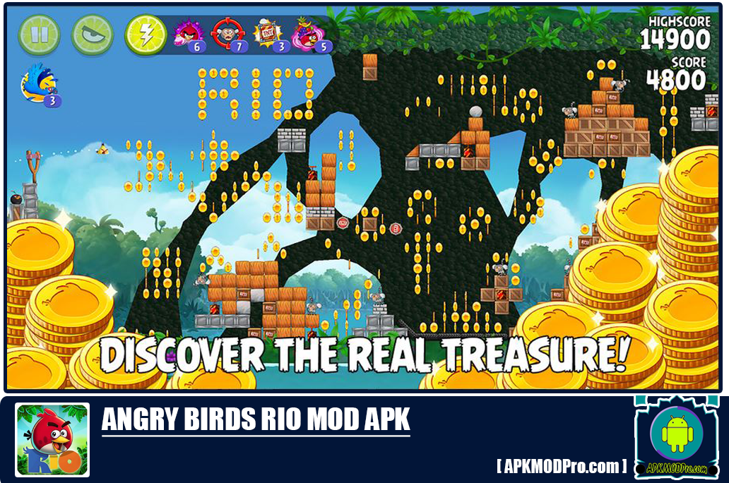 Download Angry Birds Rio MOD APK