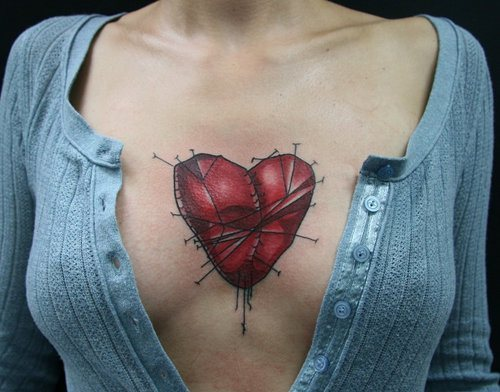 Sternum Tattoos For Women