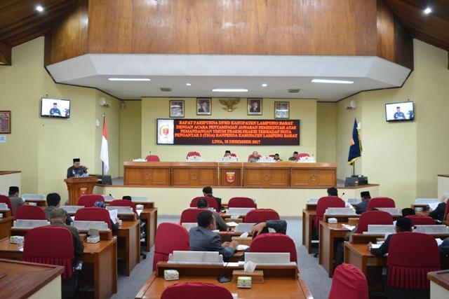 DPRD Lambar Mulai Godok Tiga Ranperda