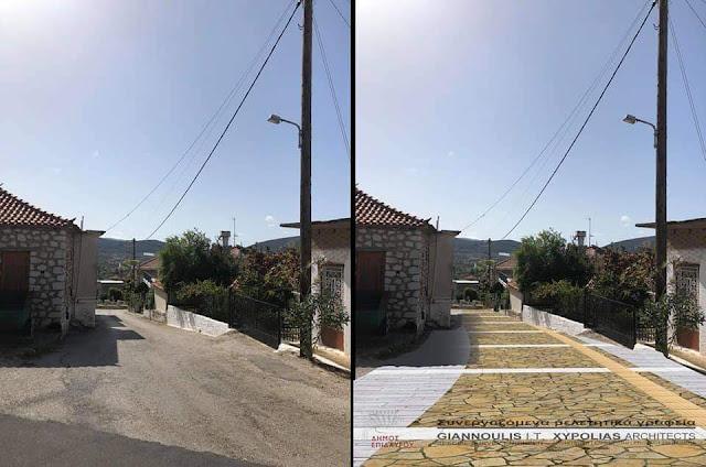 Τάσος Χρόνης: Η ''Ανάπλαση των οδών του Λυγουριού'' εντάχθηκε στο Αντώνης Τρίτσης
