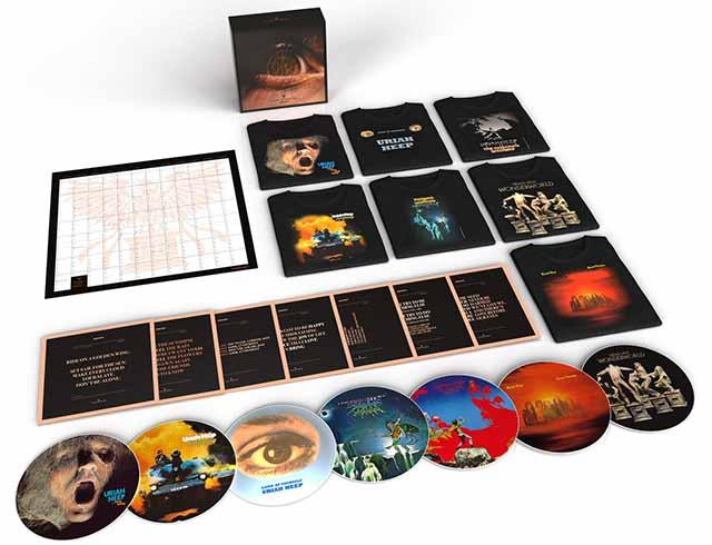 """Το box set των Uriah Heep """"Every Day Rocks"""""""