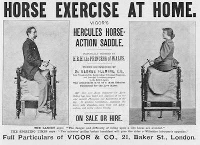 Hercules Horse Action Saddle