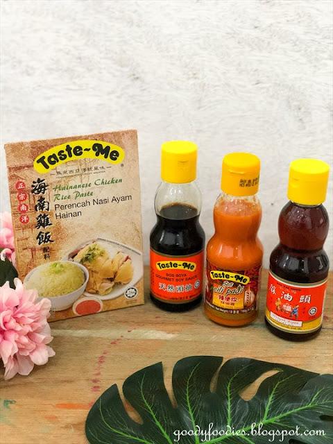 Taste-Me Hainanese chicken rice balls recipe