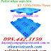 Pallet nhựa kê hàng 1200x1000x78mm PL02LS