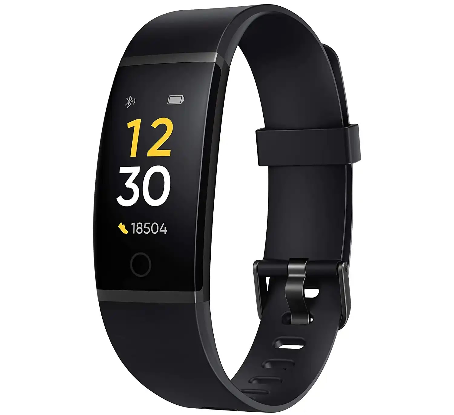 Amazon.in: Buy Realme Band (Black) - Full Colour Screen with Touchkey, Real-time Heart Rate Monitor, in-Built USB Charging, IP68 Water Resistant Online at Low Prices in India | realme Reviews & Ratings