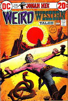 Weird Western Tales v1 #14 jonah hex dc comic book cover art by Tony Dezuniga