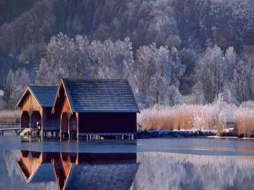 Immagini e sfondi per ogni momento for Piccole case sul lago