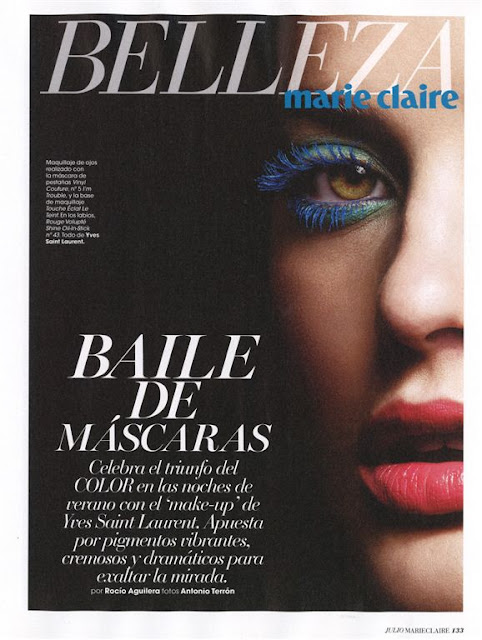 Fashion Model, @ Alejandra Alonso - Marie Claire Spain, July 2016