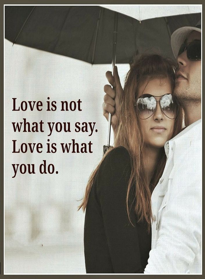 Love Is Defined By Actions Words Mean Nothing Quotes Quotes