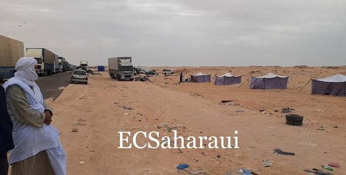 احتجاجات في الگرگرات و بعثة المينورسو تنشر جنودها في المنطقة.