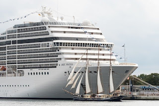 Cruise ships own morgues