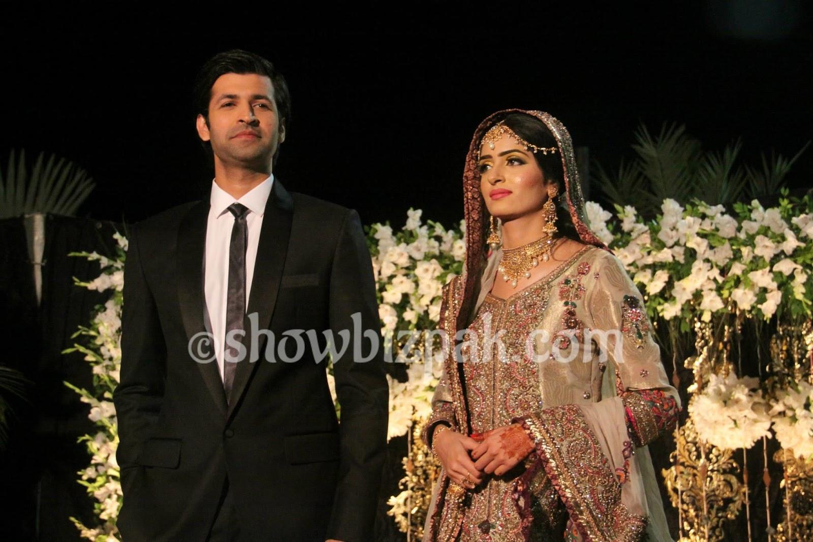morning show host and actor faheem abbass unseen wedding