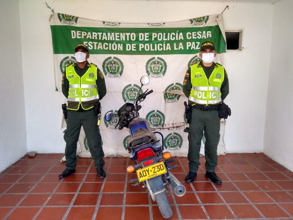 hoyennoticia.com, Moto robada en Las Casitas apareció en La Paz