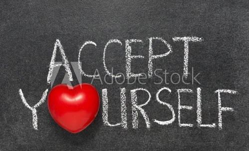 How to Accept Yourself for who you are...