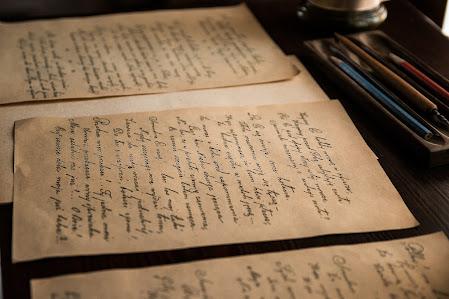 Cartas viejas, antigua carta