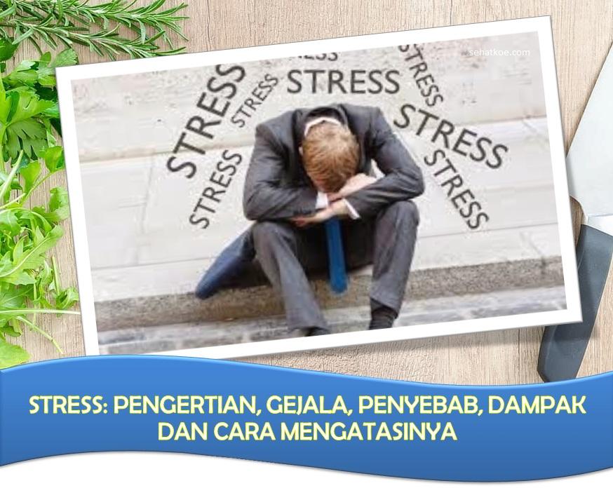 Stress: Pengertian, Gejala, Penyebab, Dampak dan Cara Mengatasinya