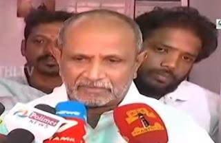 I will vote against TN CM Edappadi Palanisamy   Mylapore MLA R. Nataraj   Thanthi Tv