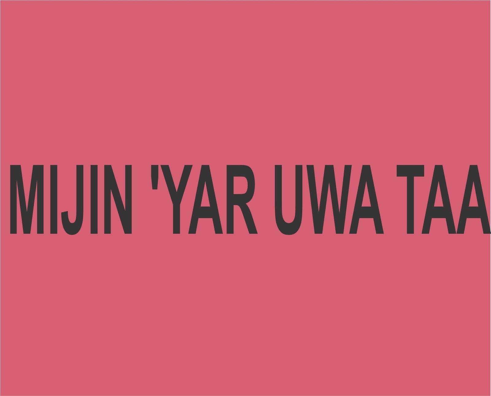 MIJIN 'YAR UWA TAA - Gidan Novels | Hausa Novels