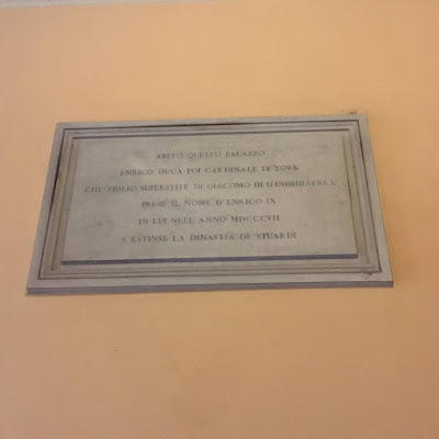 Enrico Benedetto Stuart targa