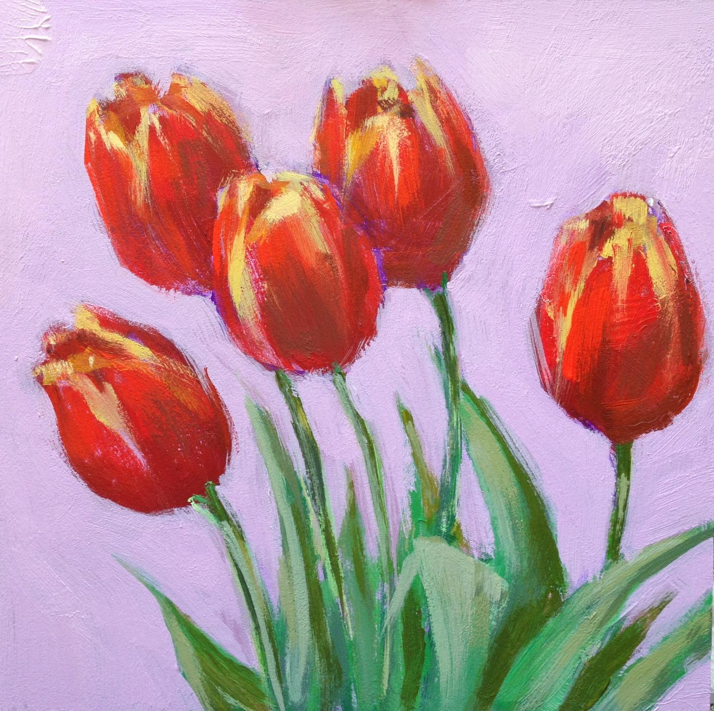 Kelley Macdonald S Paintings Renewal 6x6 Acrylic