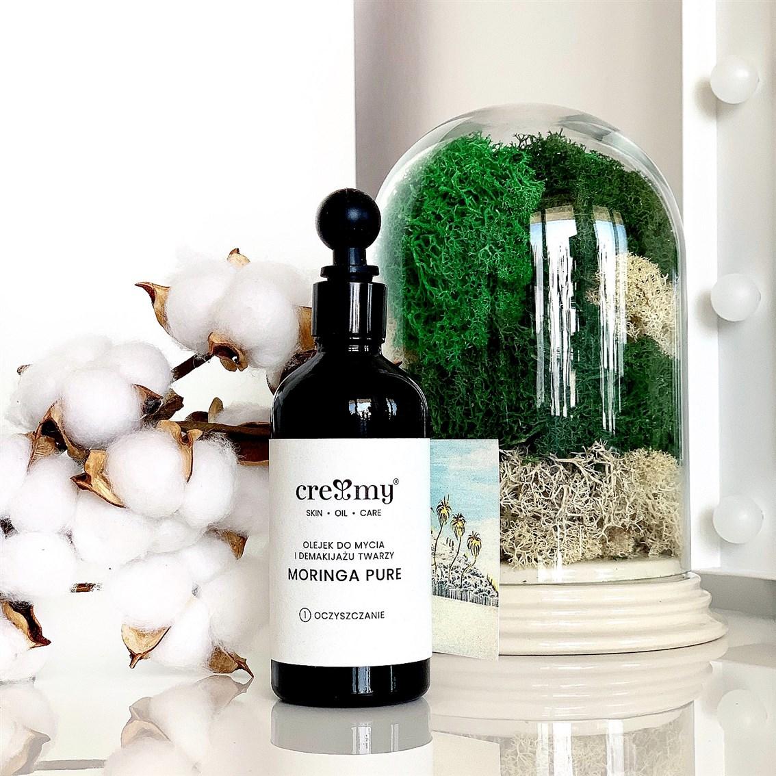 Creamy Moringa Pure Olejek do Mycia Twarzy i Demakijażu opinie