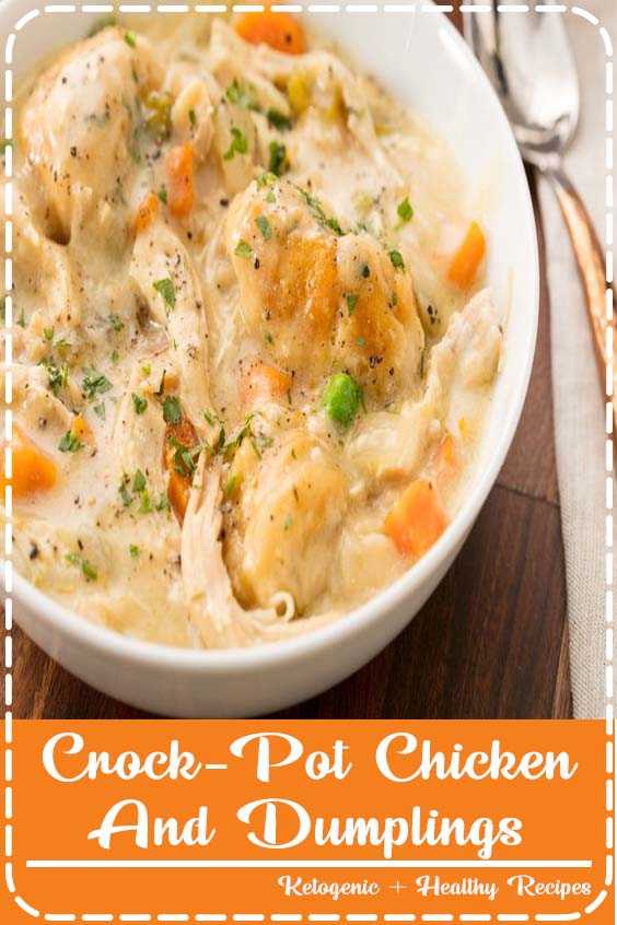 and therefore get the whole house unbearably hot Crock-Pot Chicken And Dumplings