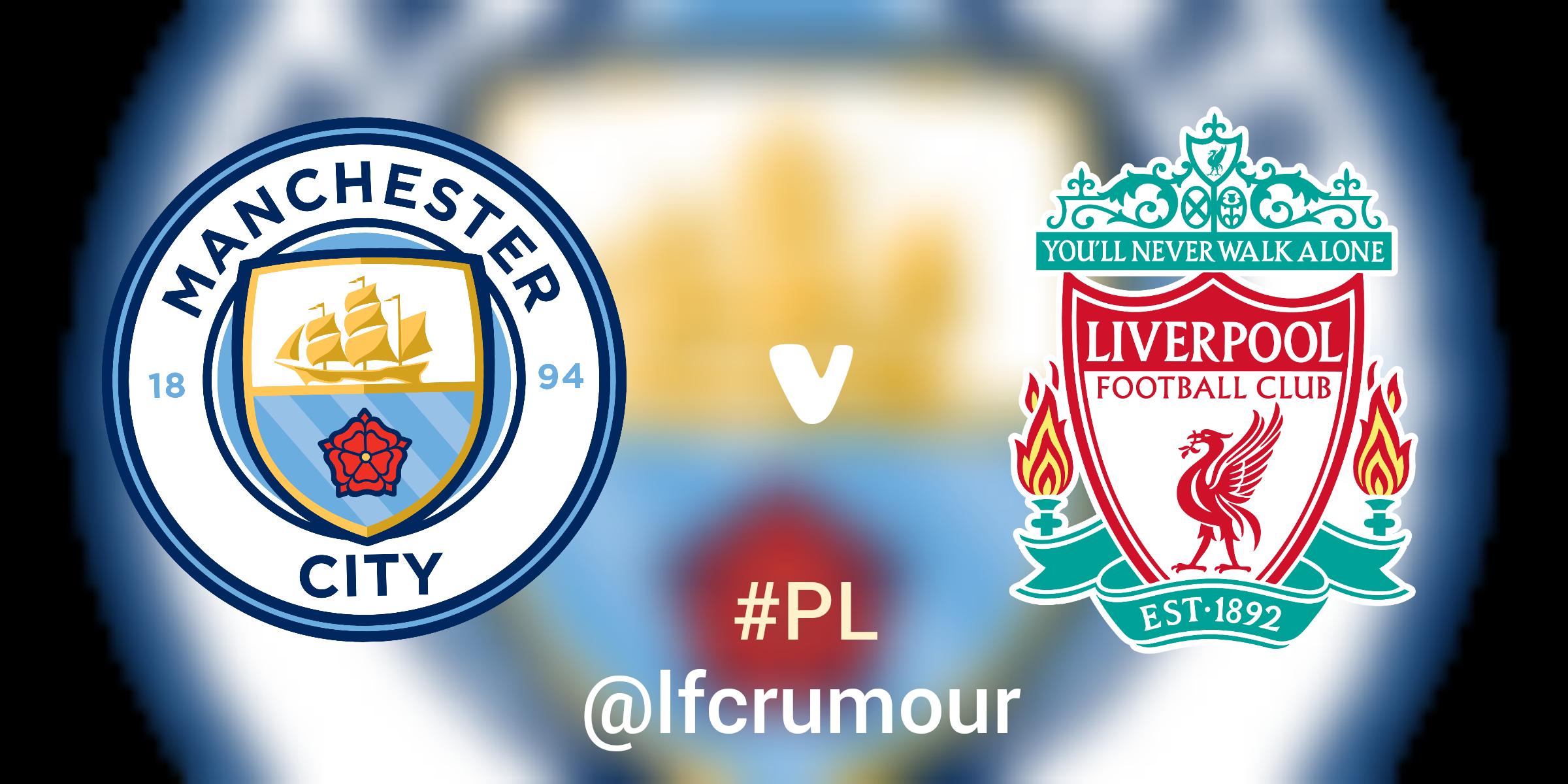 Manchester City vs. Liverpool , Premier League November 8, 2020.