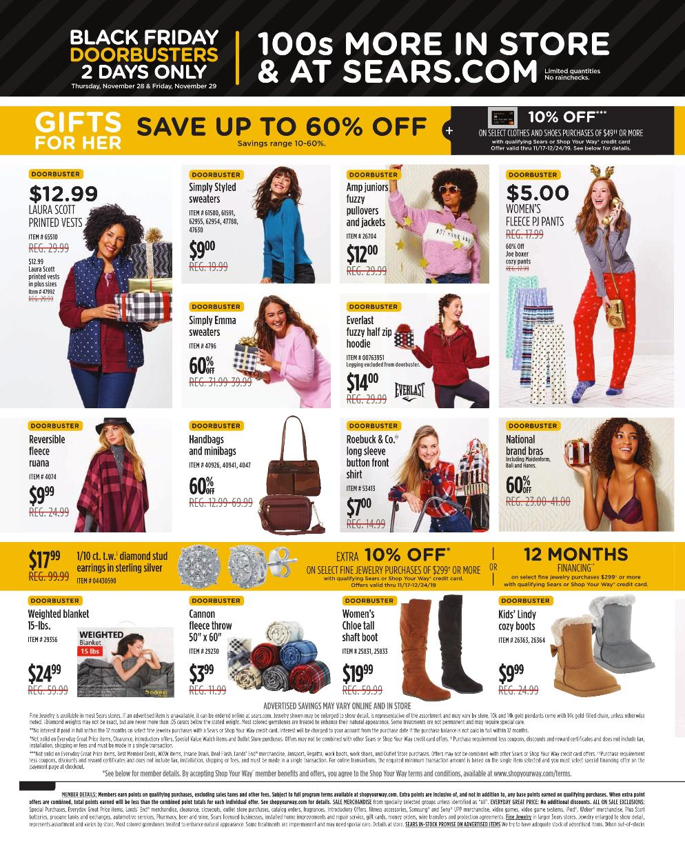 Sears Black Friday 2019 Page 2