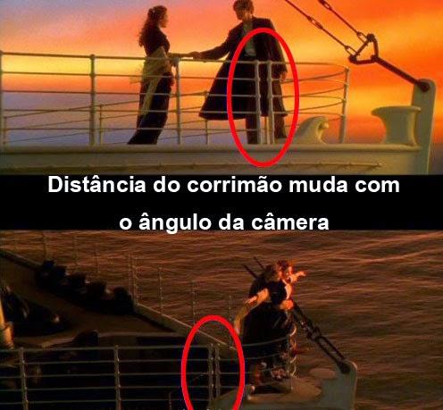 Erros Titanic