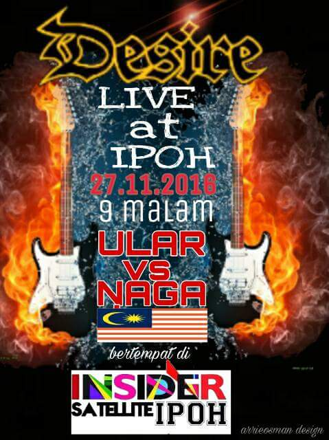 Event Desire Ular Vs Naga | 27 November 2016